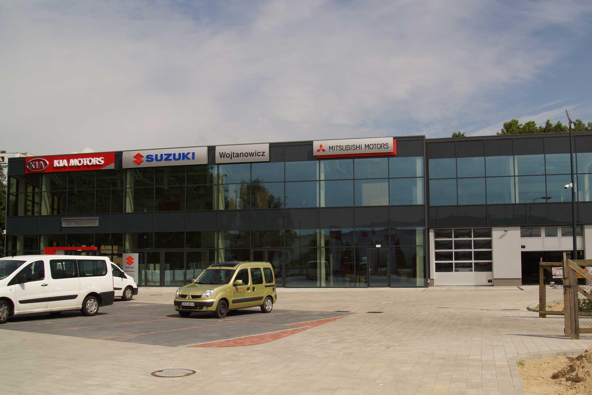 Gdynia, Kcyńska – Salon KIA
